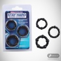 Stay Hard Beaded Cockrings CR-020