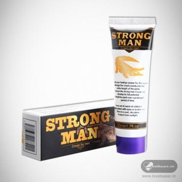 Strong Man XXL Big Dick Penis Enlargement Cream PEC-008